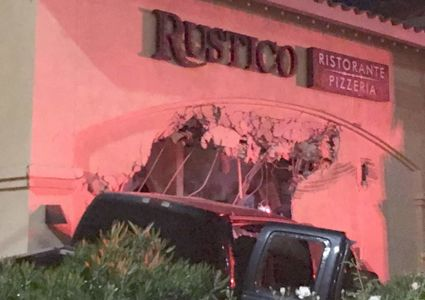 Restaurant owner says driver plowed truck into his restaurant